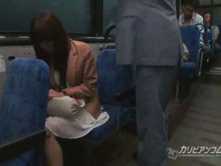Chikan מזוין ב אוטובוס