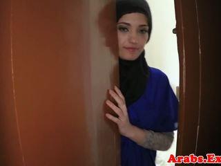 Arabisk amatør beauty pounded til kontanter, porno 79