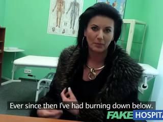 Fakehospital inteligente madura sexy mqmf has un sexo confession