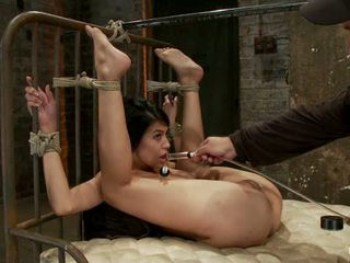 Beautiful Latina Girl Is Orgasmed To Sub Space Brutal Nipple Torture Clit Torture Foot Caning1
