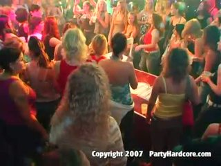 Hot club teen girls fucking at wild night sex party