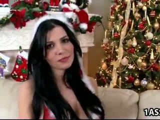 Chrismass with rebeca linares and abella anderson