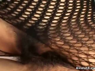 japānas, fishnet, bodystocking