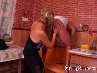German Granny Being Smashed By Young Cock