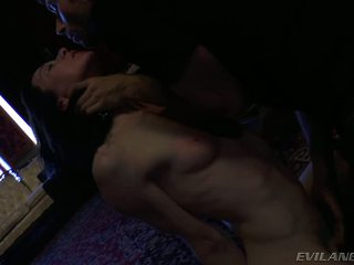 James Questions A Vampire And Sedates Her With His Cum