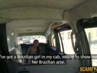 Karstās brazīlieši roxi rides a skoti dzimumloceklis