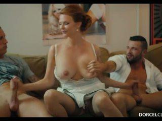 Dur dp avec 2 strangers pour ma femme tarra blanc - porno vidéo 961