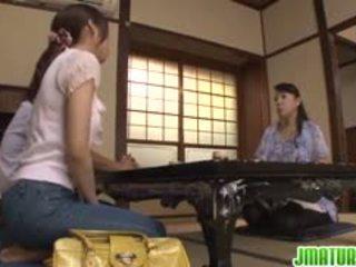 japanisch, lecken, finger