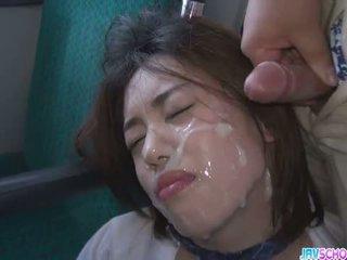 Diáklány yuna satsuki ázsiai leszopás és nyilvános fasz