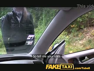 falso, taxi, biondo