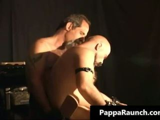 Horny nasty kinky gay guy gets tied