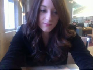 Camera meisje publiek bibliotheek tonen