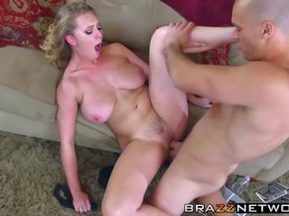 Big Tits Blonde Slut in Heat Craves a Hardcore Twat.