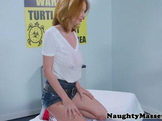 Oily massage beauty Ashley Graham poun...