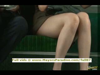 Rio innocent kinesisk jente er knullet på den buss