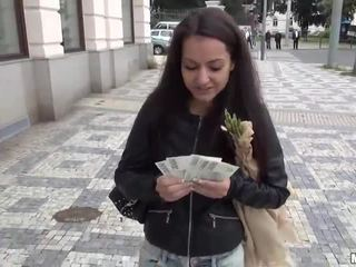 تشيكي فتاة lili devil pounded إلى نقود