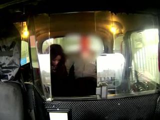 Real euro amateur sucking on cock for cabbie