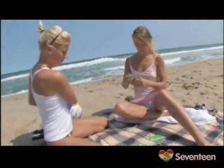 Lez wettelijk leeftijd teenagers onto de sands
