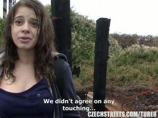 Čekiškas koledžas mergaitė lauke seksas už grynieji