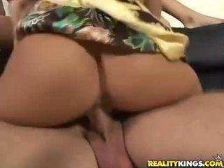 Sexy teef jaclyn geval throats cocks vervolgens gets het slammed omhoog twat