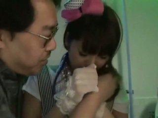 Ασιάτης/ισσα χαριτωμένο ιαπωνικό κορίτσια ζω vid
