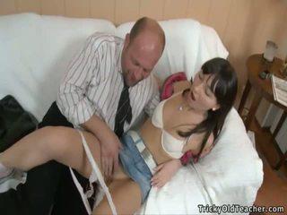 Vrouw av seks uit deur video-