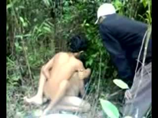 Asian Teenagers Learn How To Fuck In A Jungle Video