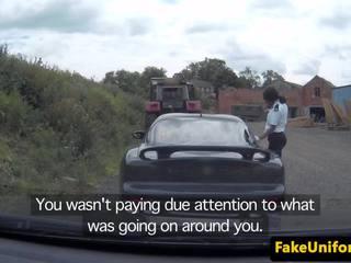 Policewoman pulls guy par trio ar policists, porno db