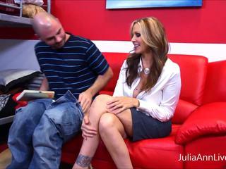 Hot Tutor? MILF Julia Ann Makes Student Study HARD!