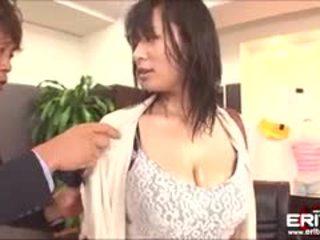 Pounding sexy hana haruna bij de kantoor