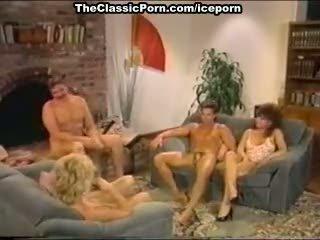 Dana lynn, nina hartley, ray victory in vintage porno movie