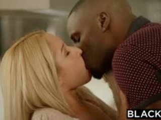 BLACKED Blonde Beauty Goldie Takes Her First Big Black Cock