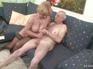 Oma und opa ficken das erste mal im פורנוגרפיה fuer למות rente