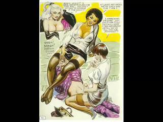Vintaj evil seksual dominasi perempuan komik