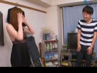 Asami yuma has sekss ar viņai fans