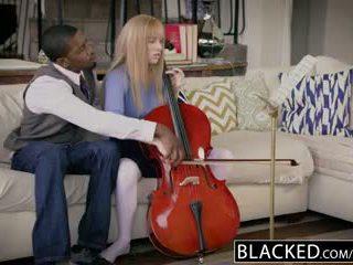 Blacked esimene rassidevaheline jaoks rikas tüdruk riley nixon