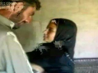 fată, arab, fierbinte