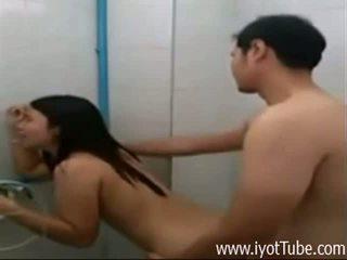 Pinay jāšanās slimnīca vannas istaba