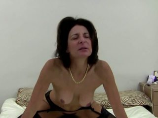 Old Mothers Go Hard with Young Boys, Free Porn 44