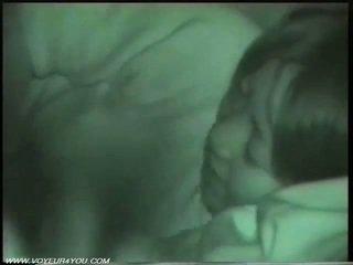 Penetran gece çalkalayın seks tarafından infrared camera