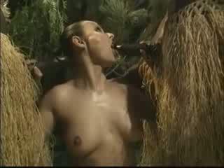 femme, africain, américain