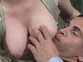 Housewife with huge boobs