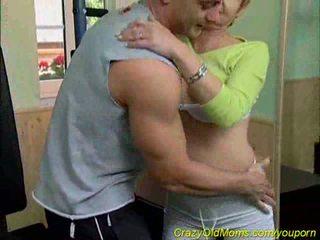 granny, moms and boys