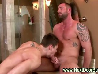 Muscle jocks jago suck cumshots