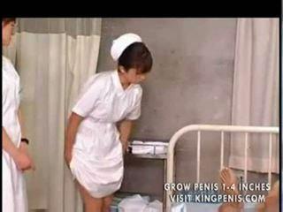 Japānieši studente nurses treniņš un prakse part1