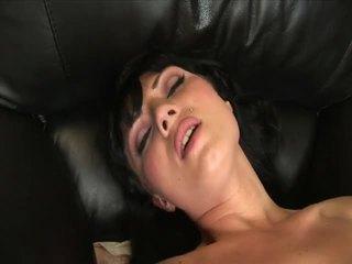 Ava rose masturbates with a nice big dildo