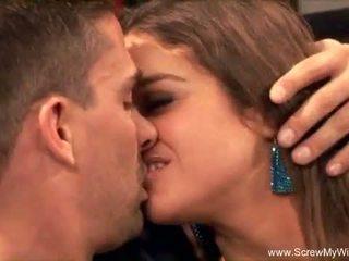 Latina milf anaal neuken met stranger