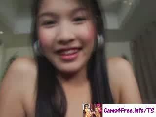 Beautiful asian doll Yo Tgirl Eyrika!