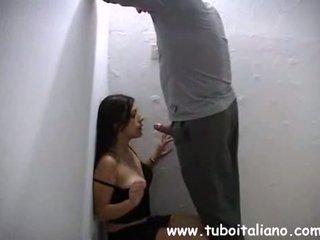 Italiaans amateur casting provino