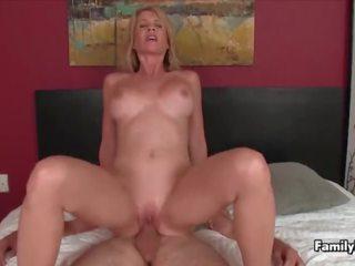 Step Mom Impaled by Big Dick Step Son